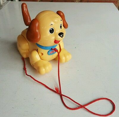 fisher price pull along puppy