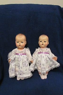 Vintage American Character Tiny Tear Twin Dolls