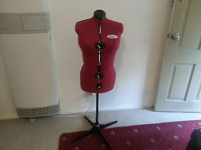 DIANA 13 point adjustable tailors dummy as new