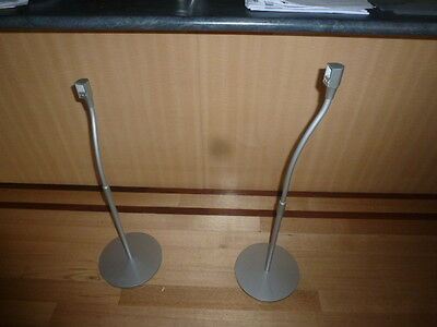 Pair Of Sony Speaker Stands Adjustable Ideal For Surround Sound