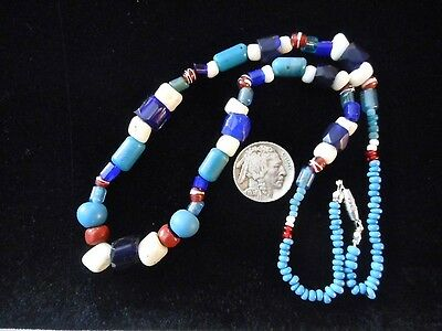 Old First Nations Glass Trade Beads Bead Pacific Northwest Haida