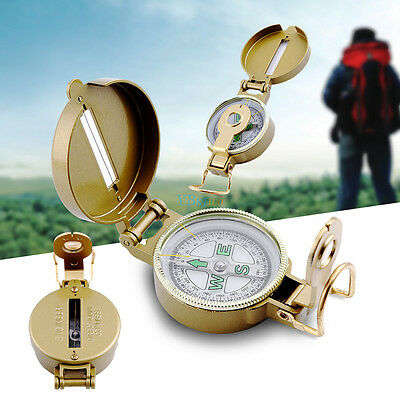 New Lensatic Outdoor Military Hiking Camping Lens Survival Mini Pocket Compass