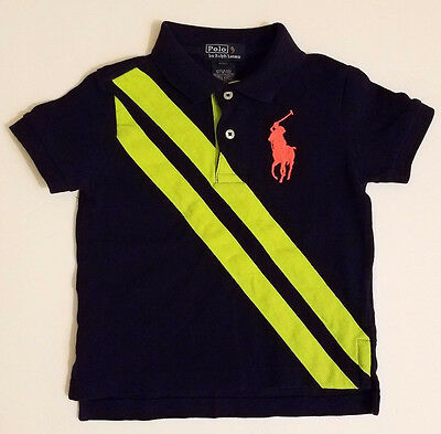 Polo by Ralph Lauren Toddler Boys Short Sleeve Polo Shirt Size 2T