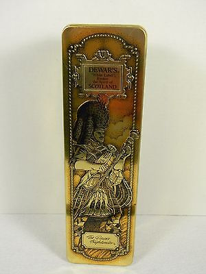 """Dewar's """"White Label"""" Blended Scotch Whiskey Tin with Packaging"""