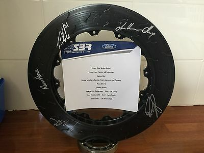 Stone Brothers Racing V8 Supercar Signed Disc