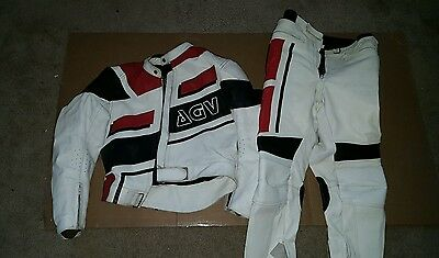AGV Leather Suit US 44