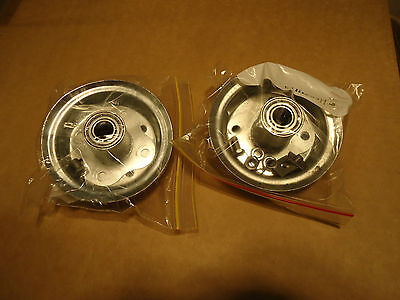 "2 x 10"" Hand Trolley Wheels With 16mm Axle - Suits Tyre Size 4.10 / 3.50-4"