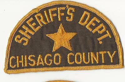 Chisago County Sheriff's Dept.  Minnesota Mn cheese cloth
