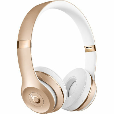 Nuovo Beats By Dr. Dre Solo3 Solo 3 Wireless Cuffie Oro Gold