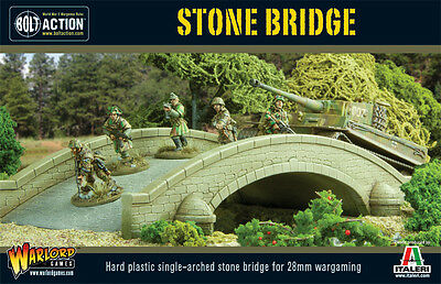 Warlord Games Stone Bridge - WG-TER-40 - for Bolt Action WW2 28mm War Gaming
