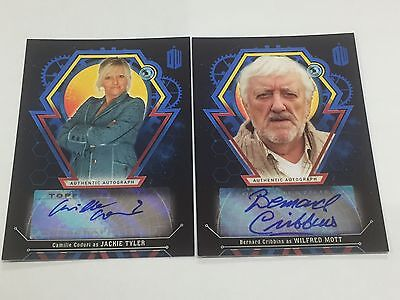 Doctor Who Extraterrestrial Encounters Camille Coduri Auto Card - 07/25