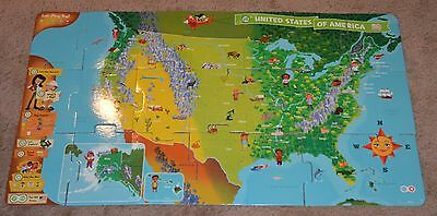 LeapFrog TAG Reader US Map Puzzle Activity