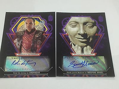 Doctor Who Extraterrestrial Encounters Sarah Louise Madison Auto Card - 04/10