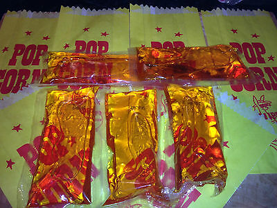 10 x 60g Genuine Cinema Style Popcorn Popping Oil! We also sell salt and corn