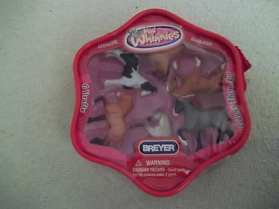 Breyer Mini Whinnies - set of 6 Drafts - new