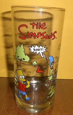 """""""The Simpsons"""" Collectable Drinking Glass"""