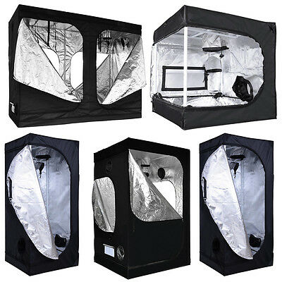 Hydropnics Reflective Grow Tent Greenhouse Bud Plate Indoor Dark Room Mylar Box