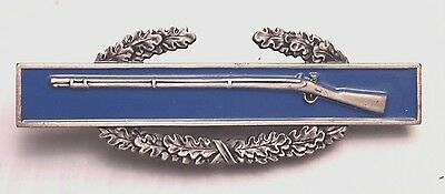 Combat Infantry Badge - G.i. Issue S-21 Maker Marked - Sugarman