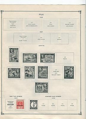 Fiji Stamp Collection - 1910s to 1960s