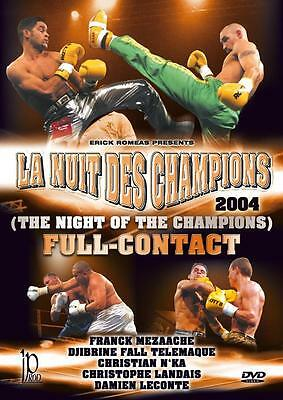 Full Contact night of the champions 2004 DVD kickboxing
