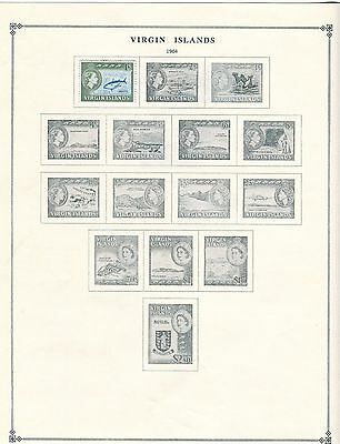 Virgin Islands Stamp Collection - 1960s to 1970s