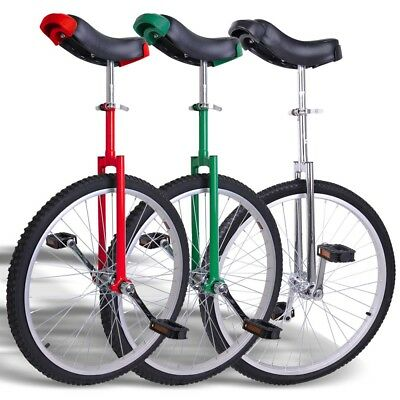 """24"""" Skidproof Wheel Unicycle Cycling Balance Exercise Mountain Tire INCD VAT"""