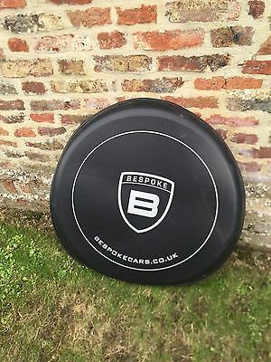 Besoke Land Rover Defender Spare Wheel Cover