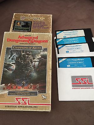 Commodore C64 - Advanced Dungeons and Dragons Champions of Krynn - 1990