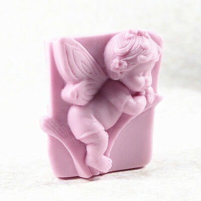 Cherub S487 Silicone Soap molds Craft  DIY Handmade soap Mold Mould