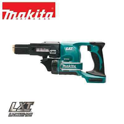 Makita DFR450ZX 18V Cordless Lithium-Ion Auto-feed Screwdriver / Screw-gun