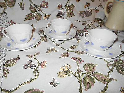 Royal Adderley  Blue Cchelsea English Bone China Cup Saucers~Buy 1 ,2, or 3 ~