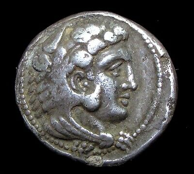 Greek Silver Tetradrachm of King Alexander The Great