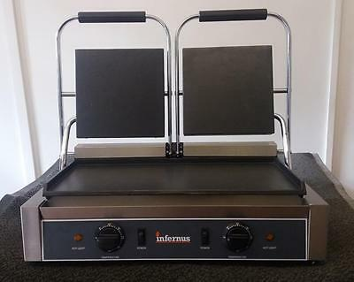 New Double Electric Contact Grill/ Panini Machine/ Toasted Sandwich maker