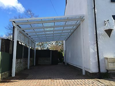 Wooden Car Port, Pergola, supplied and fitted