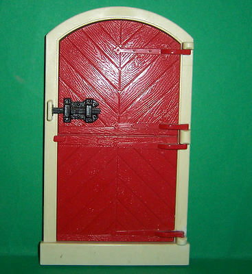 VINTAGE 1970's LUNDBY DOLLS HOUSE STOCKHOLM EXTENSION STABLE DOOR