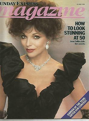 Sunday Express 22nd May 1983 Joan Collins How To Look Stunning At 50