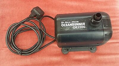 Aqua Medic Ocean Runner Or3500 Water Pump 3500 L/h For Tropical Marine Fish Tank