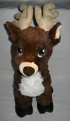Build-A-Bear Christmas Merry Mission Comet Reindeer Plush Toy with Music