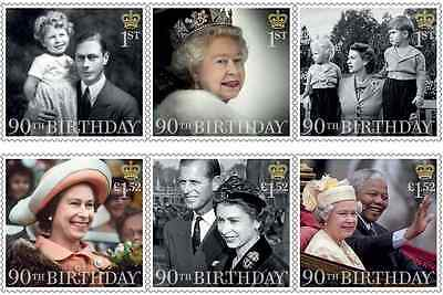Great Britain - HM The Queen's 90th Birthday SET 2016