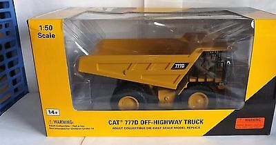 Norscot 55104 Cat 777D Off-Highway Truck 1:50 Scale Pre-Owned Boxed
