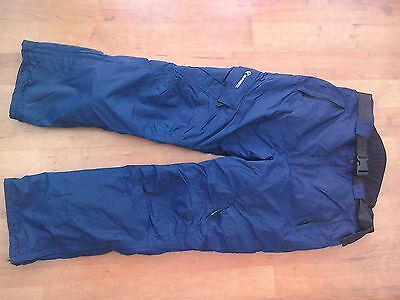 Navy ski trousers (large)