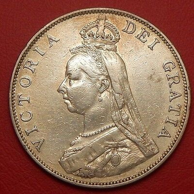 1889 Victoria Double Florin inverted I