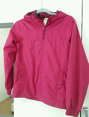 Girls Quechua Hooded Jacket Size 12 Years old
