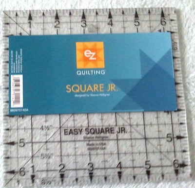Ez Simplicity Easy Square Junior 6.5Inch Template Patchwork Quilting Brand New