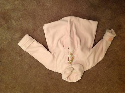Girls Next Pink Fleece Jacket Size 2-3years