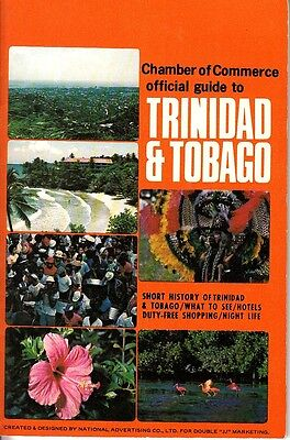 Chamber of Commerce Official Guide Trinidad & Tobago Vintage Booklet Ads