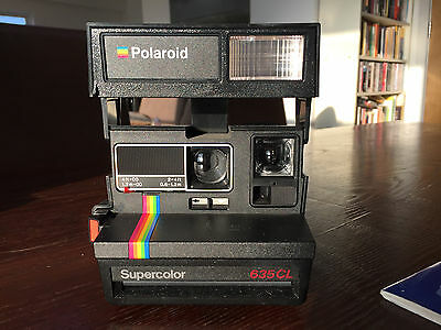 Polaroid 635 CL Supercolour Instant Film Camera