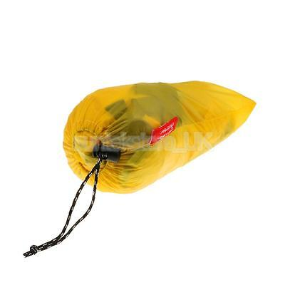 Outdoor Camping Hiking Picnic Rest Windshield Wind Screen Foldable Yellow