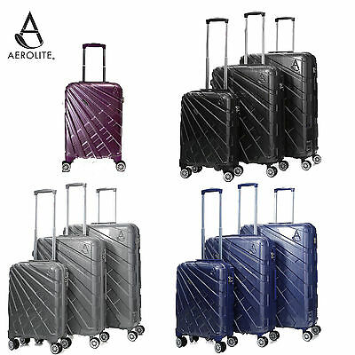 Airline Premium Quality Hard Shell Rotating Spinner Suitcase Lightweight Luggage