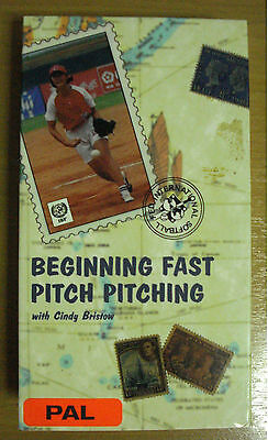 Softball Video Vhs  Beginning Fastpitch Pitching